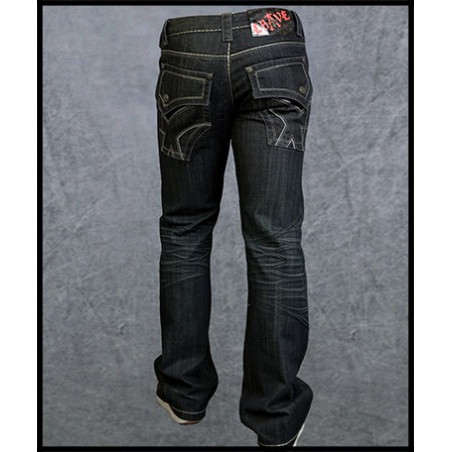 X Pockets Jeans Men Rebel Spirit