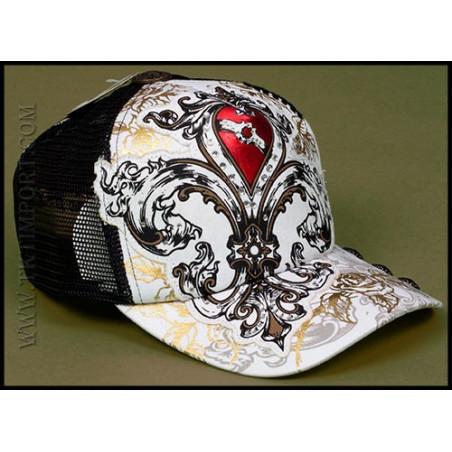 Hat - H1081-WHITE