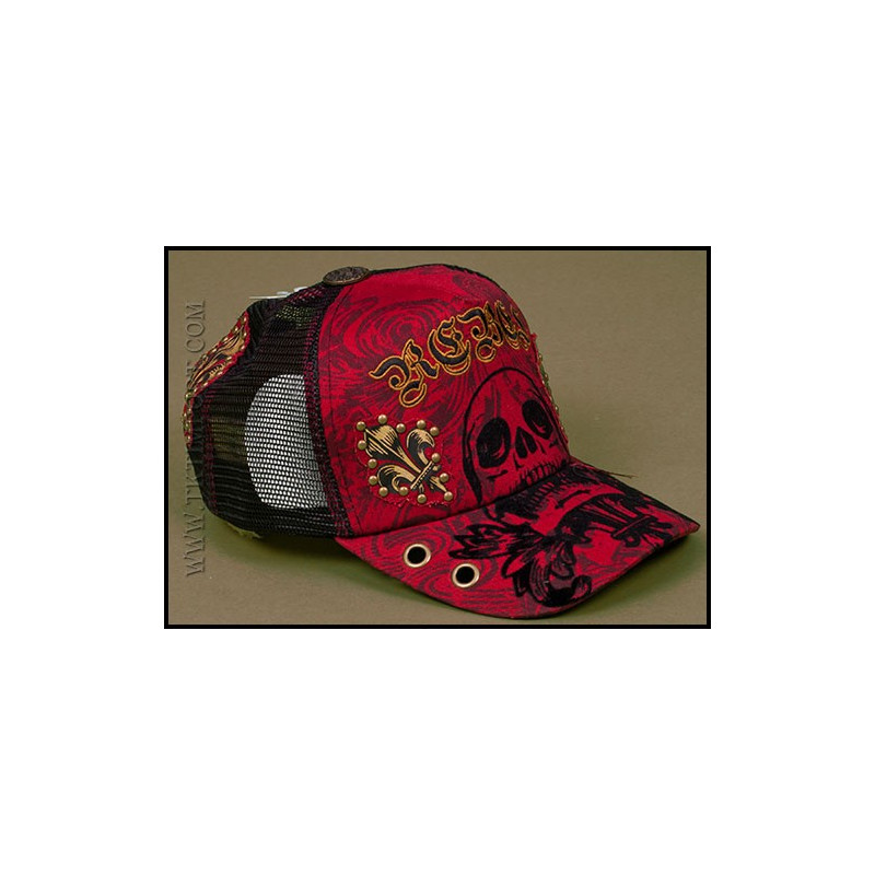 Hat - H1086-RED