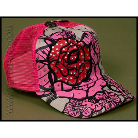 Rebel Spirit Rose Cap