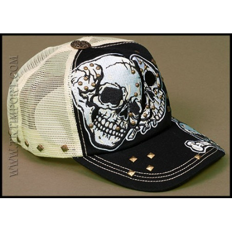 Rebel Spirit Skulls Cap