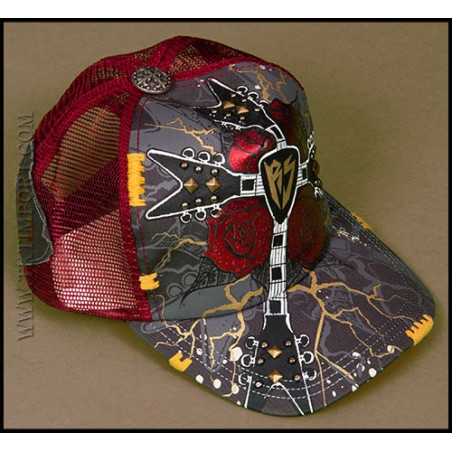 Rebel Spirit Cross Rose Cap