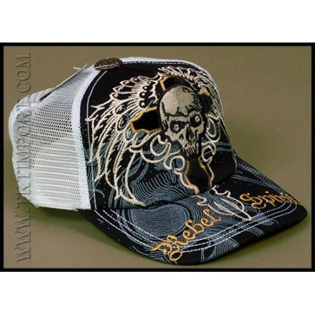 Skull Wings Cap Rebel Spirit