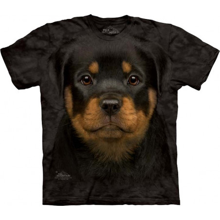 Rottweiler Puppy T-Shirt The Mountain