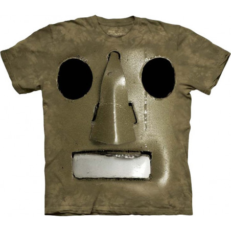 Big Face Vintage Robot T-Shirt The Mountain