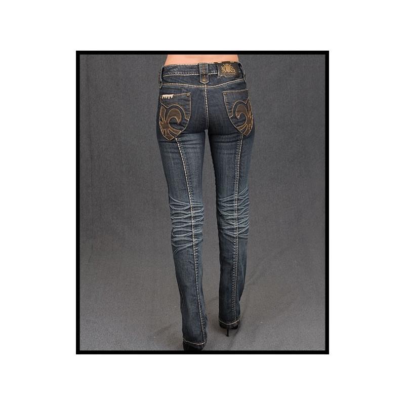Jeans - GJP017- BLUE