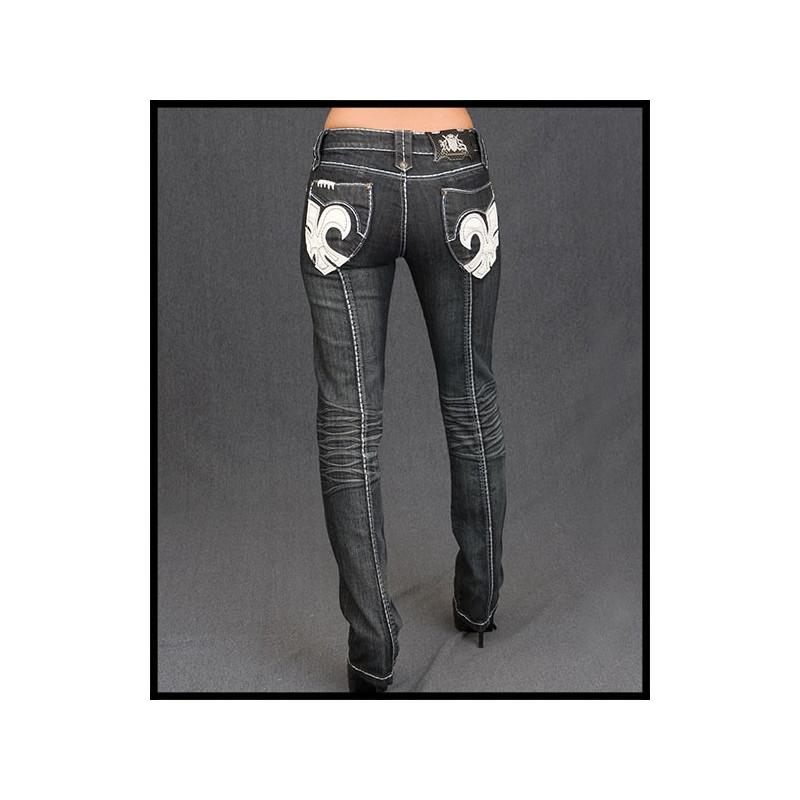 Jeans - GJP018-BLK