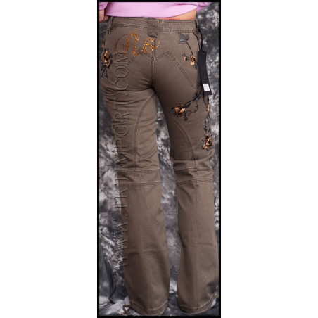 Roses Jeans Women Rebel Spirit