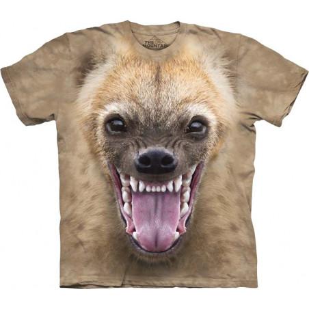 Big Face Hyena T-Shirt The Mountain