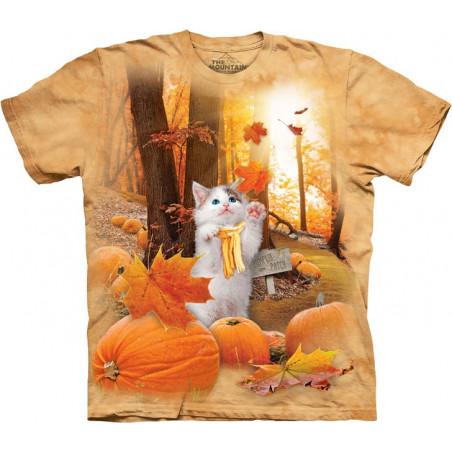 Fall Kitty T-Shirt The Mountain