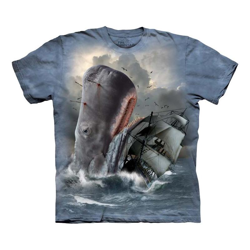 Moby Dick T-Shirt The Mountain - Clothingmonstercom-4035