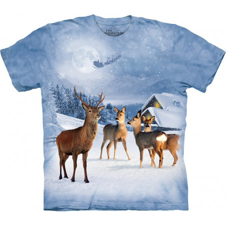 Deer in Winter T-Shirt