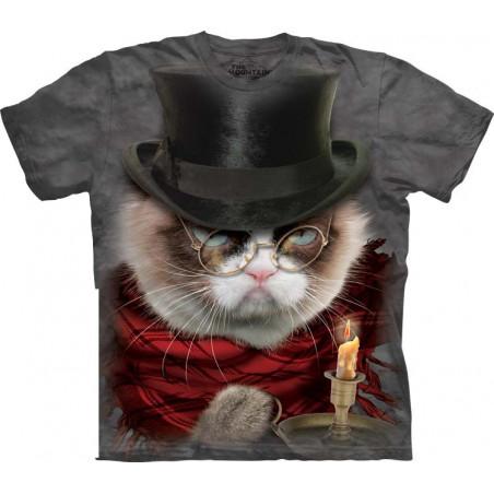 Cat Grumpenezer Scrooge T-Shirt The Mountain