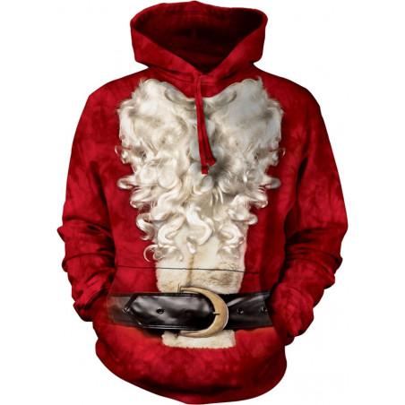 Santa Suit Hoodie The Mountain