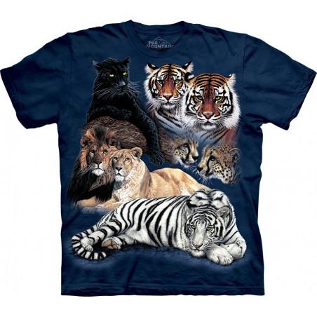 Big Cat Collage T-Shirt