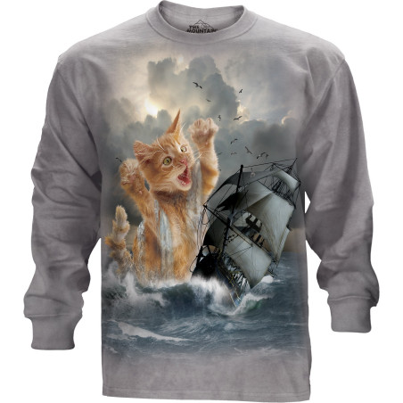 Krakitten Long Sleeve Tee