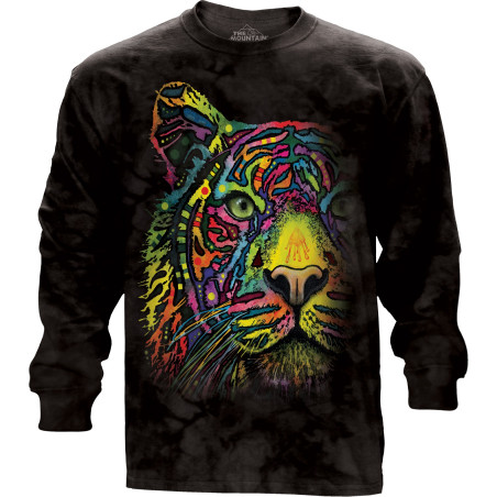 Rainbow Tiger Long Sleeve Tee