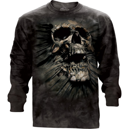 Breakthrough Skull Long Sleeve Tee The Mountain