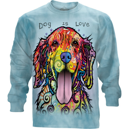 Dog Is Love Long Sleeve Tee