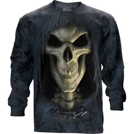 Big Face Death Long Sleeve Tee The Mountain