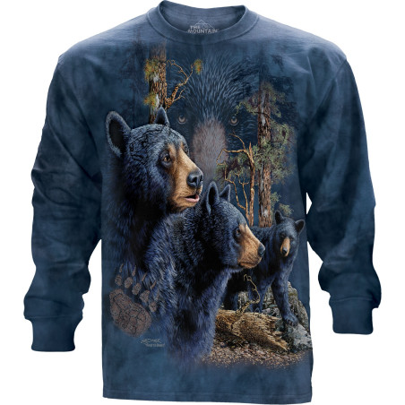 Find 13 Black Bears Long Sleeve Tee