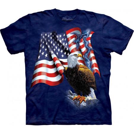 Eagle Flag T-Shirt The Mountain