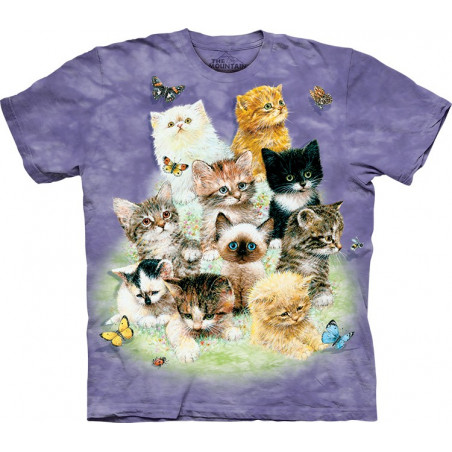 10 Kittens T-Shirt The Mountain