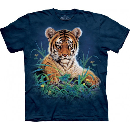 Tiger Cub in Grass T-Shirt