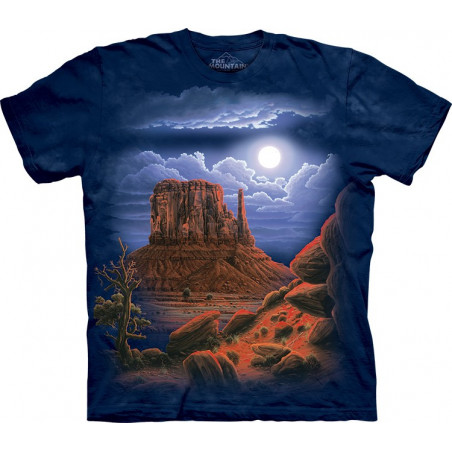 Desert Nightscape T-Shirt The Mountain
