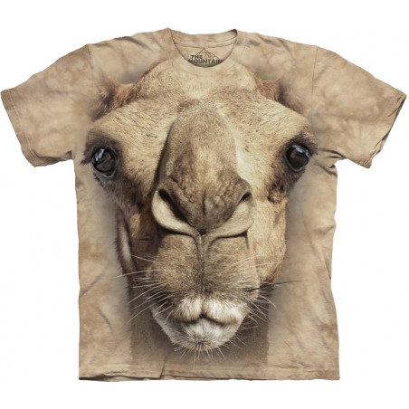 Big Face Camel T-Shirt The Mountain