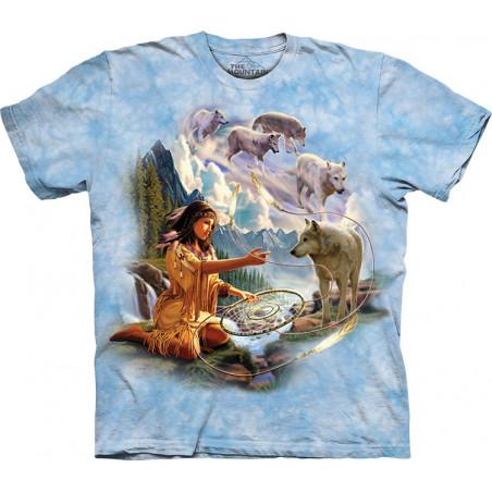 Shirts 3D Dreams Of Wolf Spirit T-Shirt The Mountain