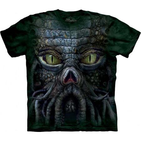 Big Face Cthulhu T-Shirt The Mountain