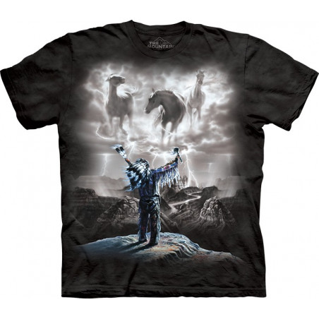 Summoning The Storm T-Shirt The Mountain