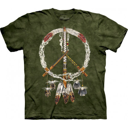 Peace Pipes T-Shirt The Mountain