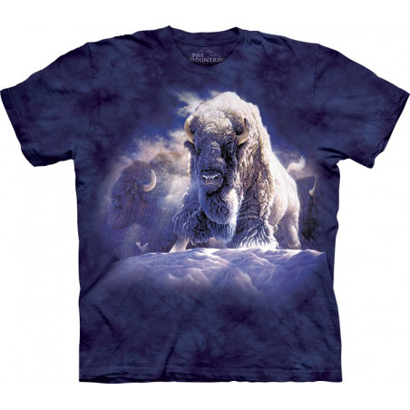 Bisons His Divine Presence T-Shirt The Mountain