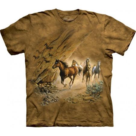 Horses Sacred Passage T-Shirt The Mountain
