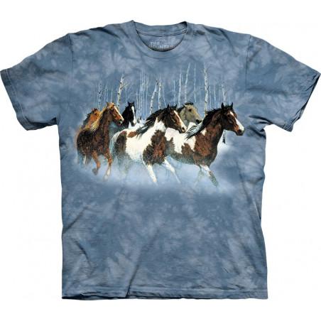 Winter Run T-Shirt The Mountain