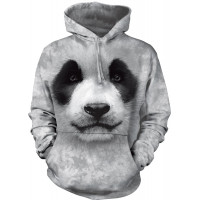 Big Face Panda Hoodie