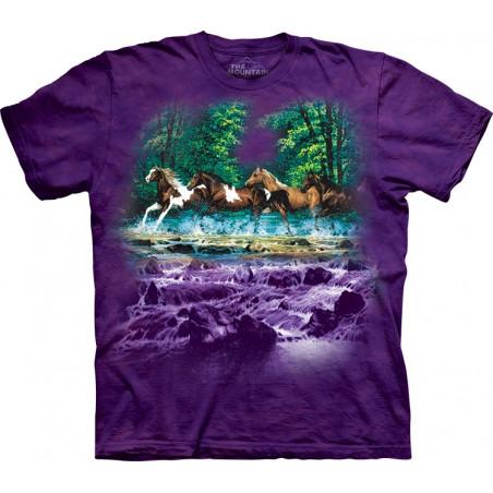 Horses Spring Creek Run T-Shirt The Mountain