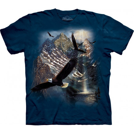 Eagles Reflections of Freedom T-Shirt The Mountain