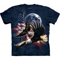 Patriot Eagle Moon