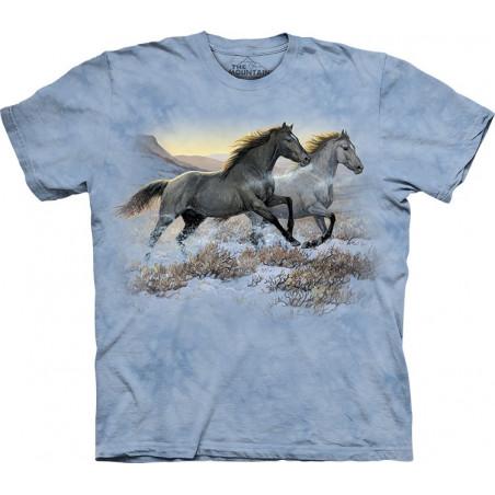 Horses Runing Free T-Shirt