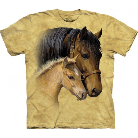 Horses Gentle Touch T-Shirt The Mountain