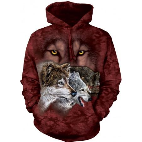 Find 9 Wolves Hoodie