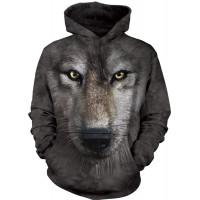 Wolf Face Hoodie
