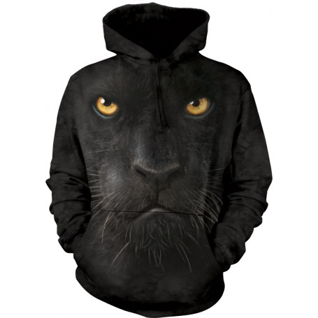 Black Panther Face Hoodie