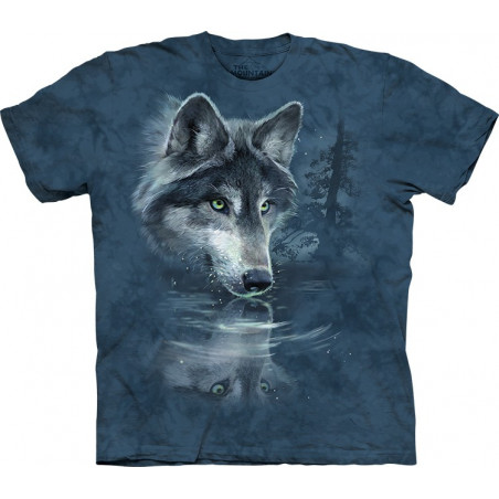 Wolf Reflection T-Shirt The Mountain