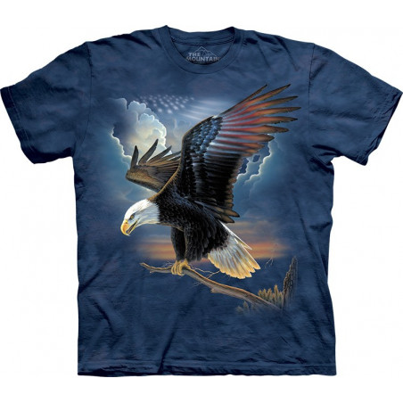 Eagle The Patriot T-Shirt The Mountain