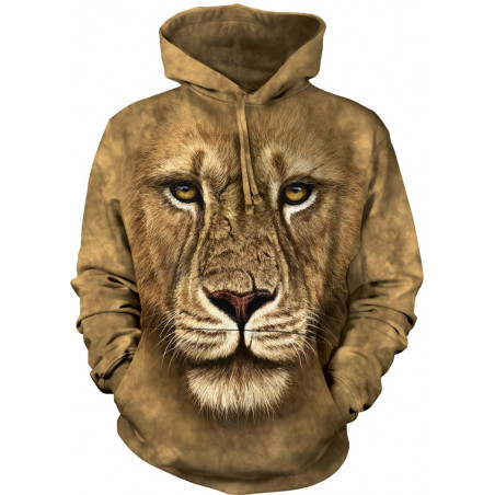 Lion Warrior Hoodie The Mountain
