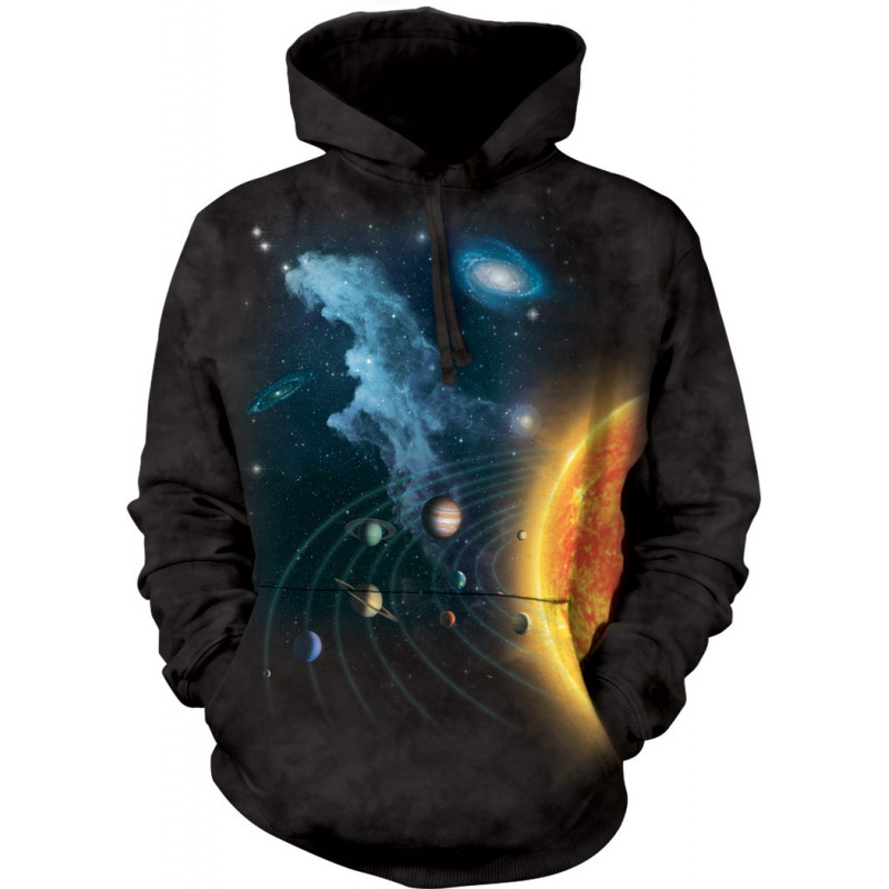 Solar System Hoodie The Mountain Clothingmonster Com